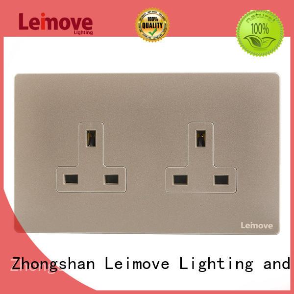 custom standard wall socket ODM at discount Leimove