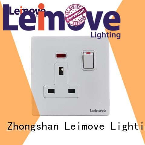 Leimove sand stone electrical plugs and sockets OEM at discount