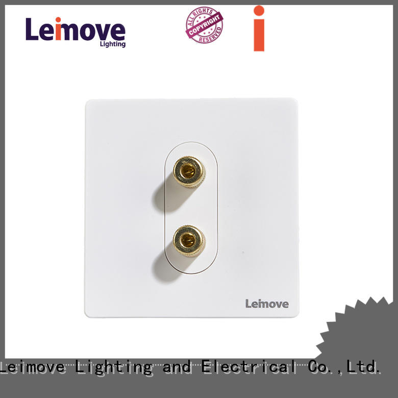 Leimove stainless steel unswitched fused spur free sample cheapest factory price