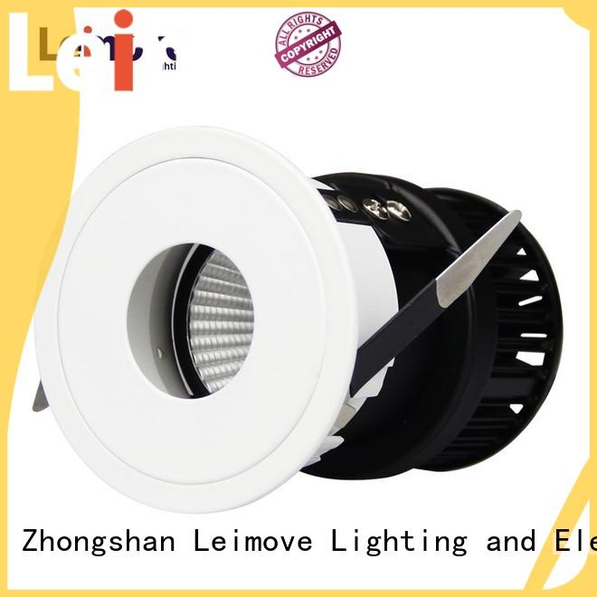 Leimove copper bathroom spotlights led round shape for sale