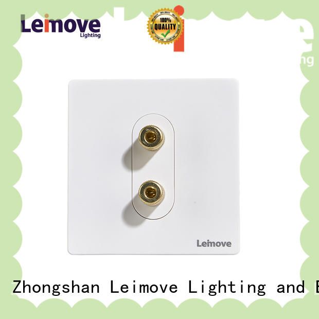 stainless steel telephone wall socket free sample high quality Leimove