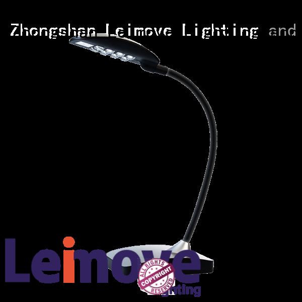 Leimove popular dimmable led desk lamp black for student