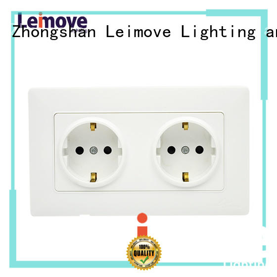 waterproof outlet replace wall power socket Leimove manufacture