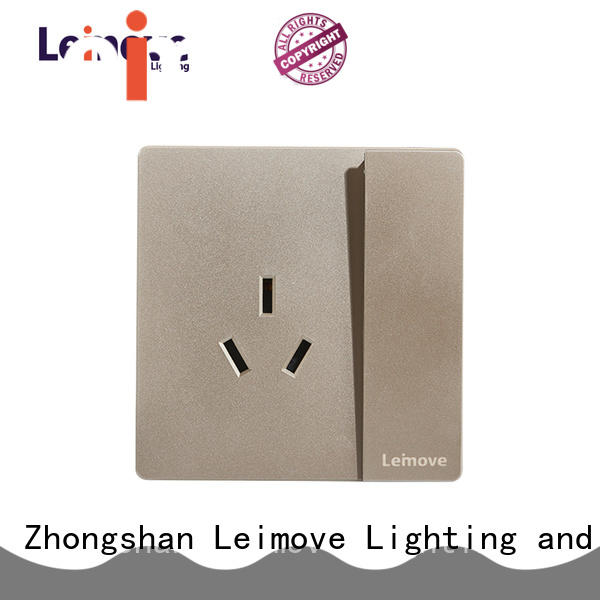 Leimove lingmai series power plugs and sockets wholesale factory price