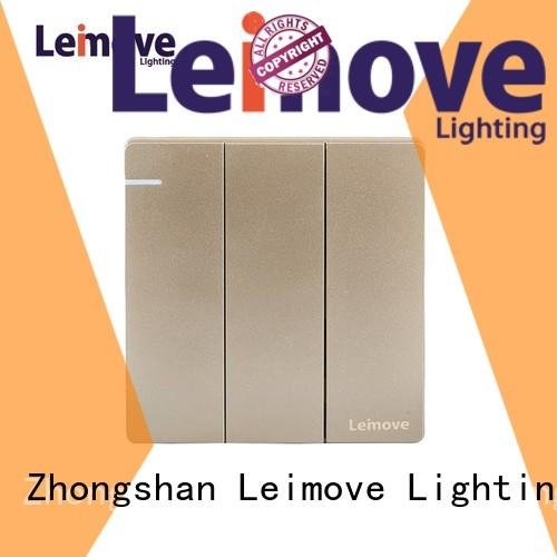 stainless steel wall switch sandstone gold for sale Leimove