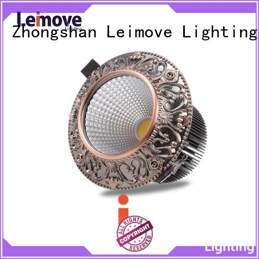 gold double led spotlights ultra bright for wholesale Leimove