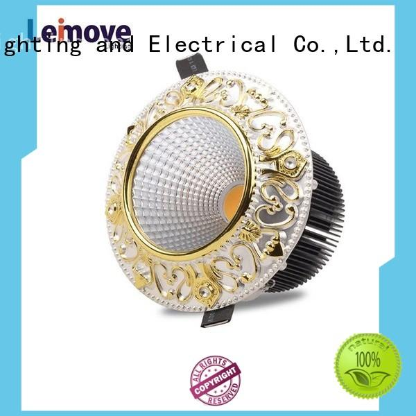 Leimove gold led ceiling spotlights ultra bright for decoration
