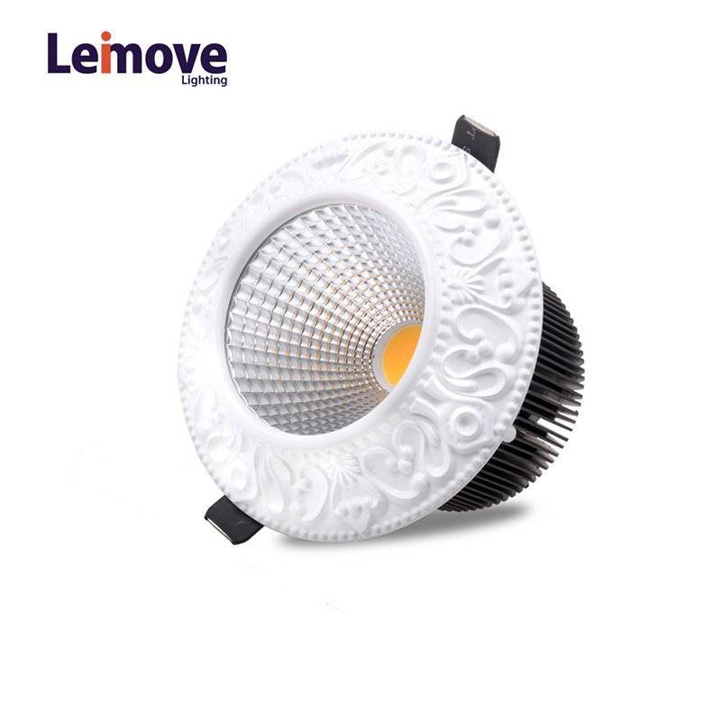 Leimove 10w Led Round Down light In Best Price LM8017 matte whlte