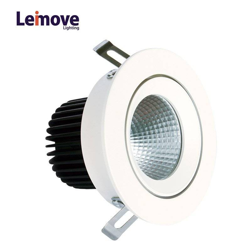 Leimove Led Round Type Anti-glare Recessed dimmable Spotlight LM29809