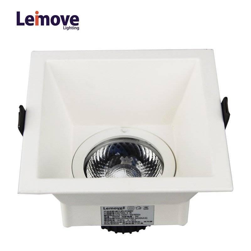 Leimove Anti-glare CRI90 flicker free 2 years warranty 5W LED downlight  LM7001