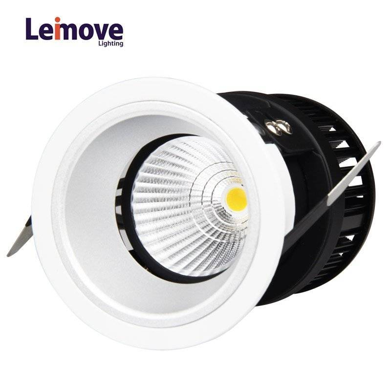 Leimove COB Round Type Decoration Living Room Hot sale Adjustable LED COB 5w Wall Washer Light LM29834-SY