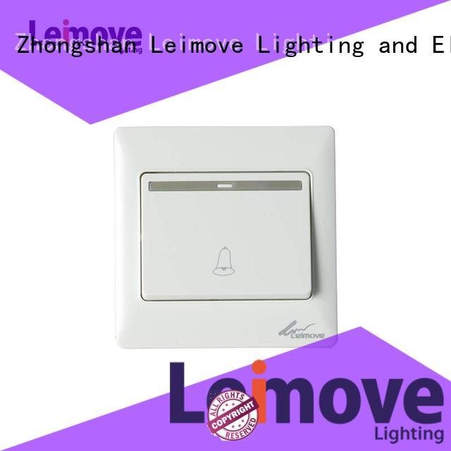 Leimove Brand one white door light switch plates