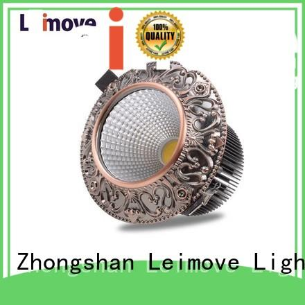 round shape led spot lights recessed for decoration Leimove