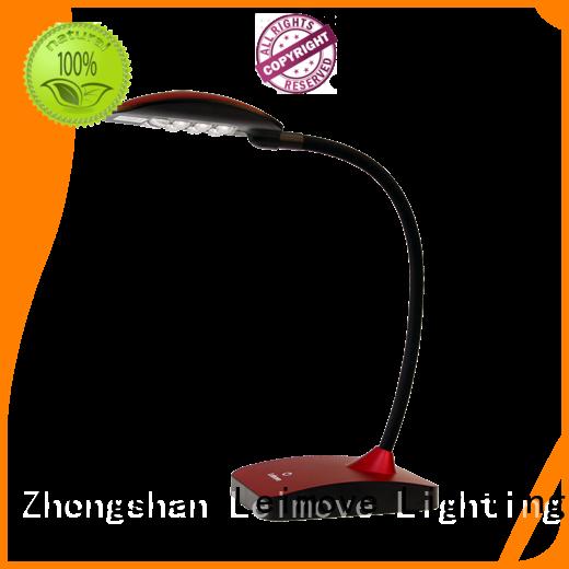 Leimove black best led desk lamp bulk production for sale