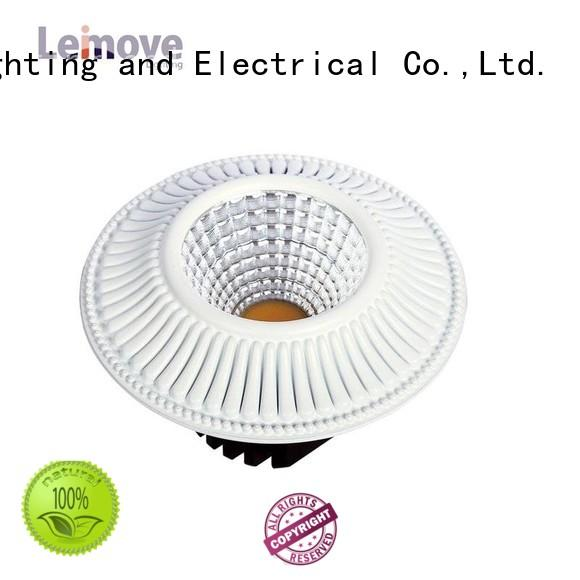 2017 New Cob Dimmable Led Down light With 120mm Cut Out LM8018 Matte Whlte