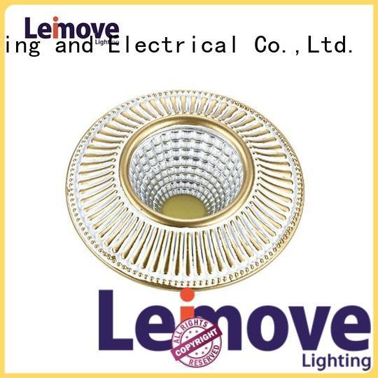 Leimove round shape spot led gu10 recessed