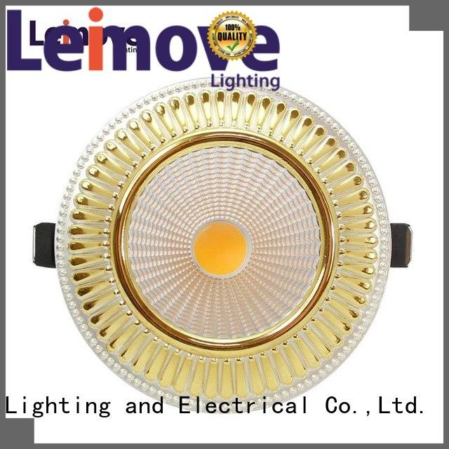 silver-gold led track spotlights round shape for sale Leimove