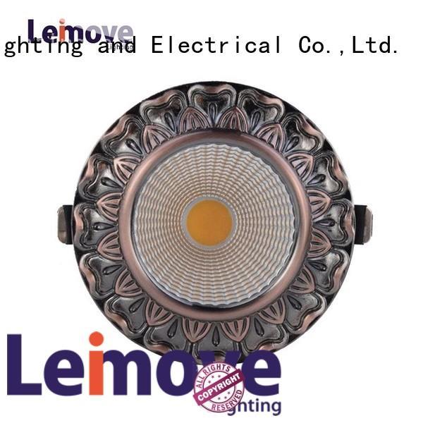 round shape led house spotlights ceiling for wholesale Leimove
