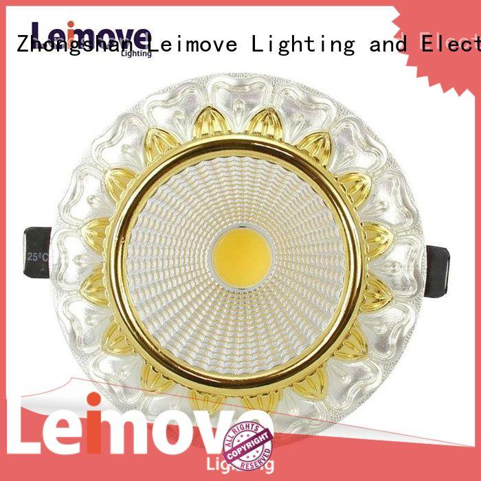 Leimove gold led spotlight replacement cheap price for wholesale