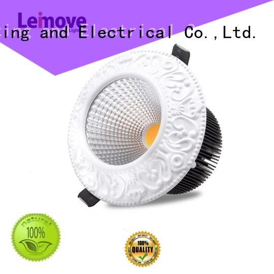 Leimove round shape spot led light recessed