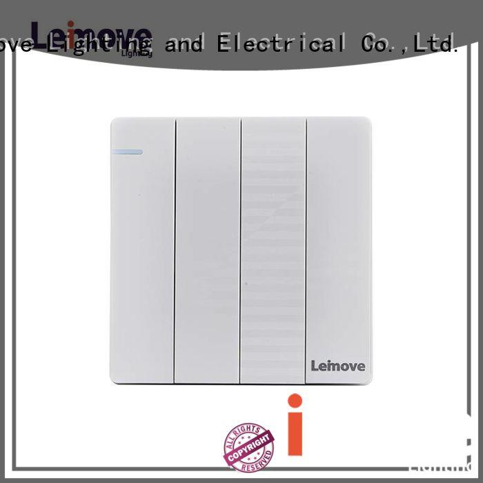 Leimove high quality basic light switch top manufacturer for sale