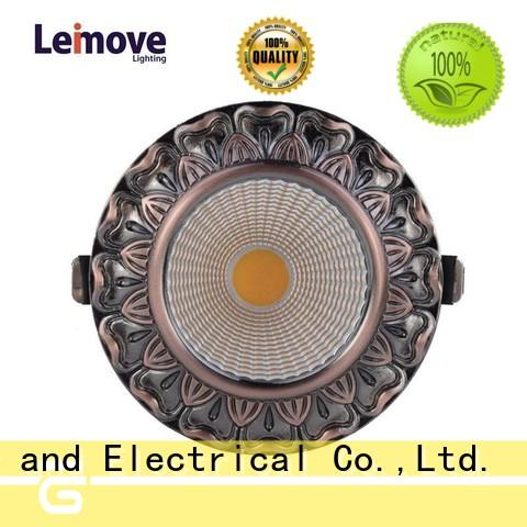 round shape dimmable led spot recessed for decoration Leimove