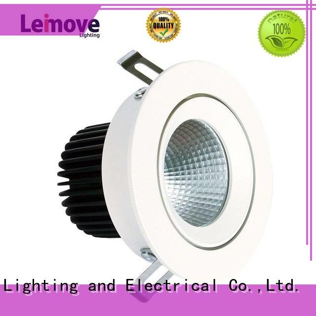 Leimove gold spot led gu10 recessed