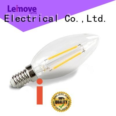 Wholesale glass led light bulbs for home Leimove Brand