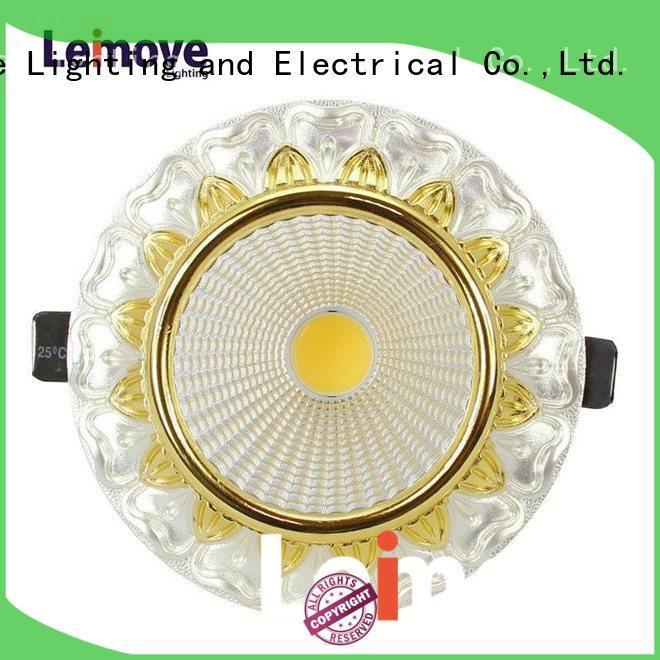 Leimove copper spot lights led ultra bright for decoration