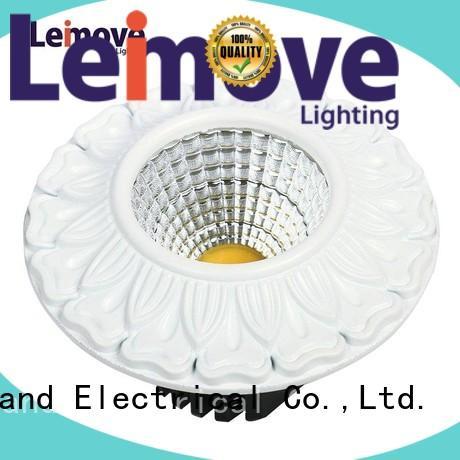 energy-saving bathroom spotlights led round shape ultra bright for decoration