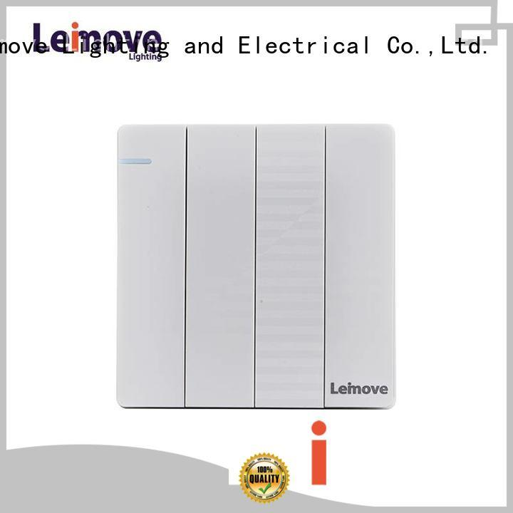 Leimove durable modern electrical switches for home universal for wholesale