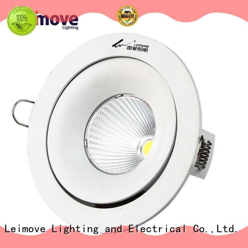 Leimove copper spot lights led silver-gold for wholesale