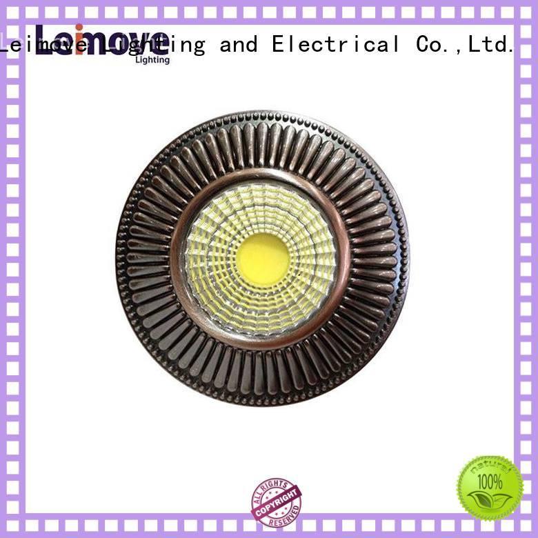 Leimove copper spotlight led lights ceiling for decoration