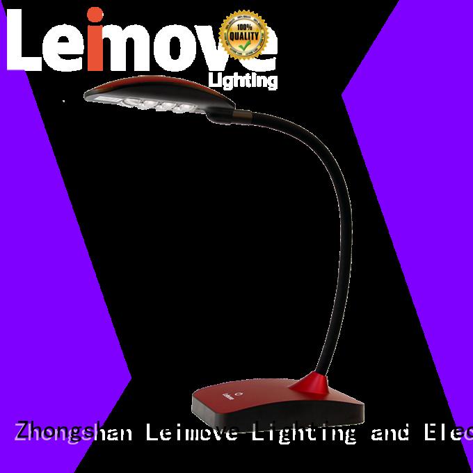 Leimove red led desk lamp bulk production for wholesale