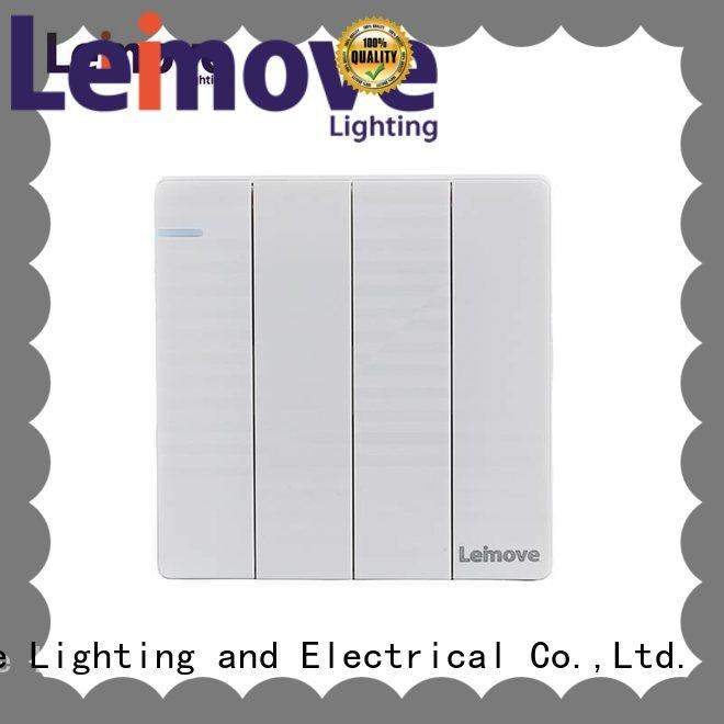 Leimove hot-sale modern electrical switches universal for customization