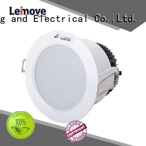 ceiling decoration led downlight fixtures round for customization Leimove