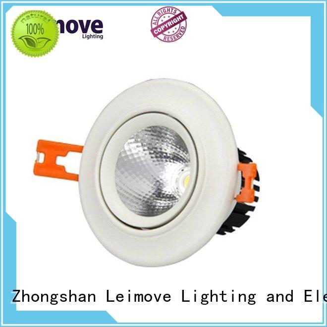 Leimove COB Round Type Commercial light Recessed Ceiling spot Lights LM8020-5S