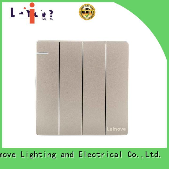 Leimove stainless steel electrical safety switch top manufacturer for decoration