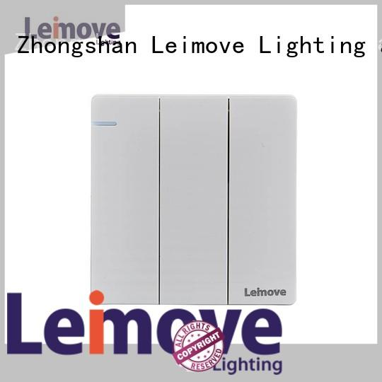 Leimove high quality home light switch bulk order for customization