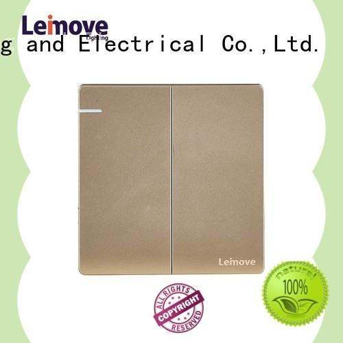 Leimove sandstone gold house electrical switches universal for sale