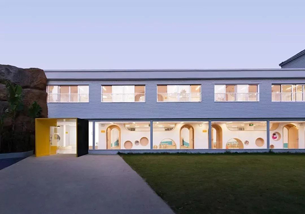 Leimove-Kindergarten Design: To Create An Original-ecological School Environment