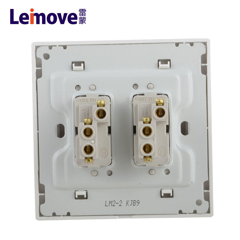 Single connection switch of two stilts LM2-2-HUI(Z)