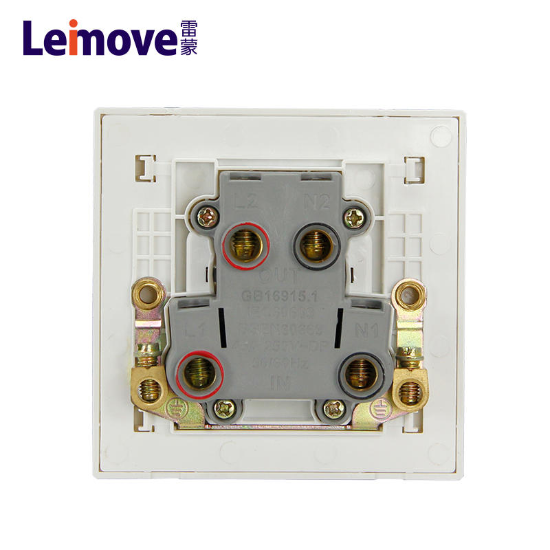 45A bipolar switch with light(Z)