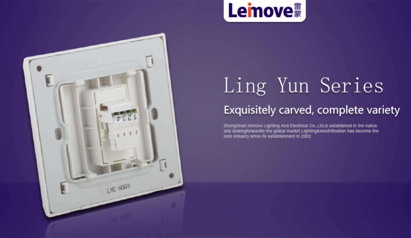Leimove-Single Telephone Jack Lmcz | Ling Xuan White Series Manufacture-5