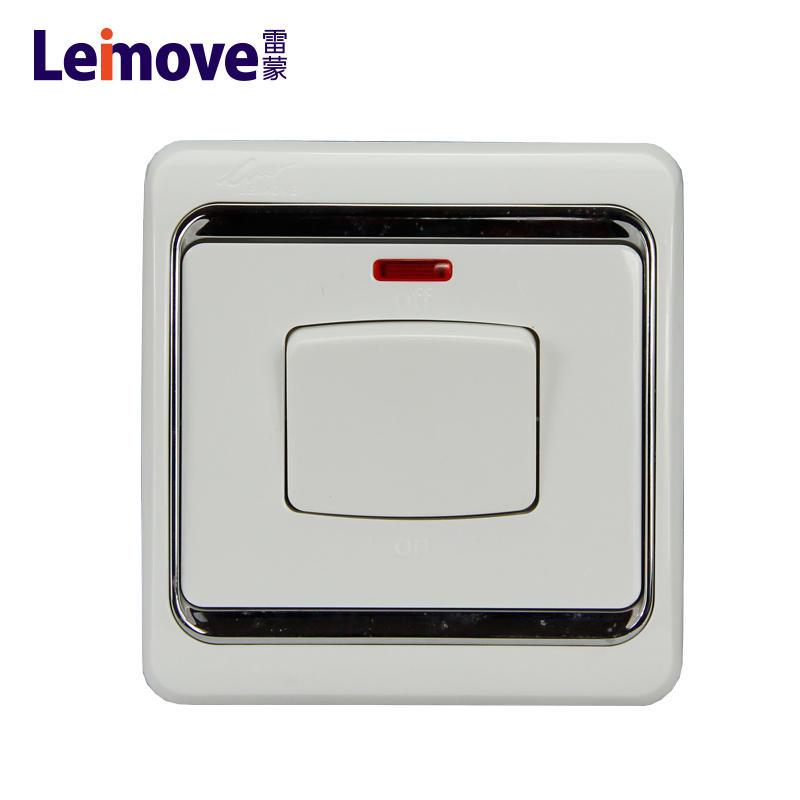 45A bipolar switch with light LMD245L(A)