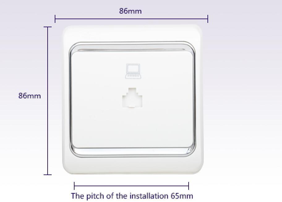 Leimove-Best Single Computer Socket Lmla China Electric Socket-1
