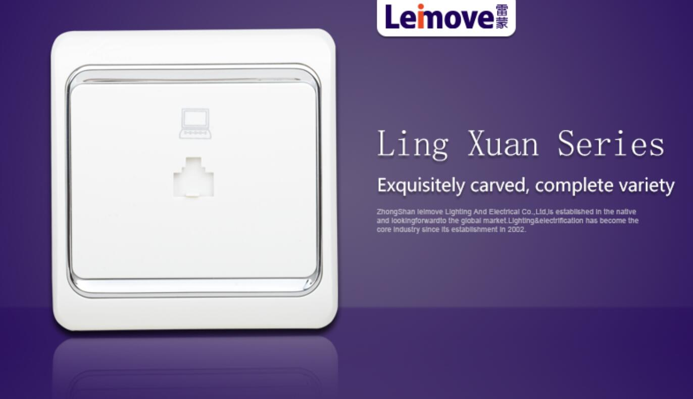 Leimove-Best Single Computer Socket Lmla China Electric Socket-2