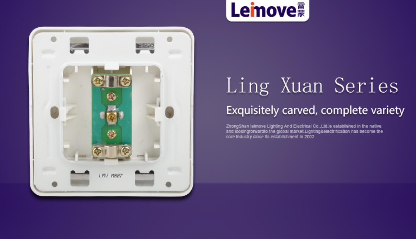 china electric socket wall power socket Leimove Brand