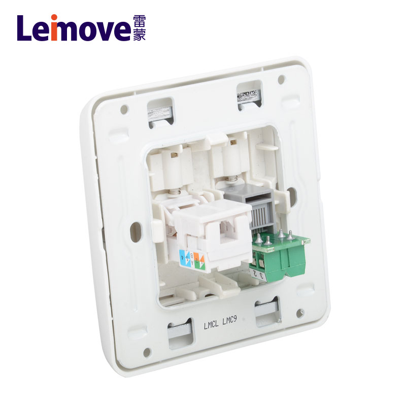 Leimove-Low Current, Computer Phone Socket Lmcla