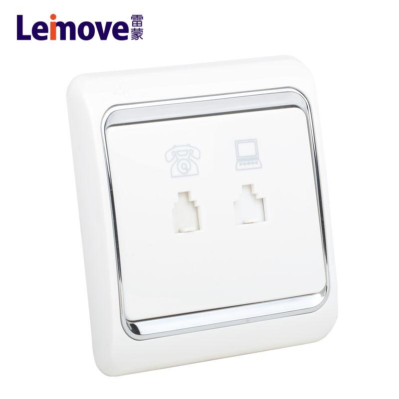 Leimove-Low Current, Computer Phone Socket Lmcla-1